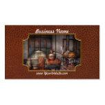 Steampunk - destilería privada tarjetas de visita