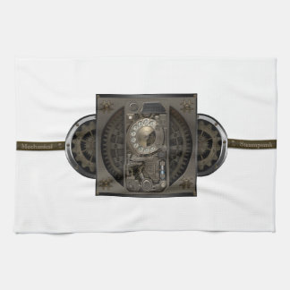 Steampunk Device - Rotary Dial Phone. Towel