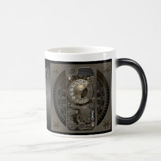 Steampunk Device - Rotary Dial Phone. Magic Mug
