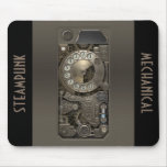 Steampunk Device - Rotary Dial Phone. Mouse Pad