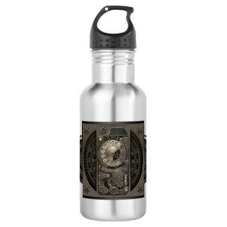 Steampunk Device - Rotary Dial Phone. Water Bottle