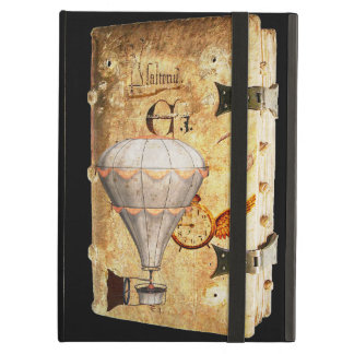 Steampunk Diary iPad Portfolio iPad Air Cover