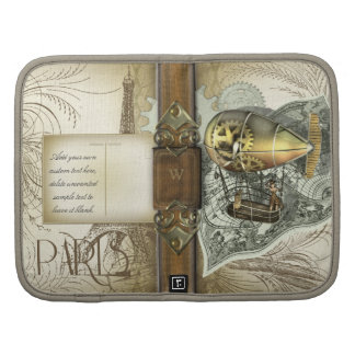 Steampunk Dirigible Air Tour Folio Planner