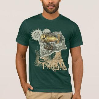 Steampunk Dirigible Air Tour T Shirt