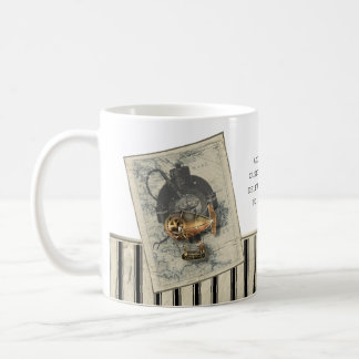 Steampunk Dirigible Balloon Ride Coffee Mug
