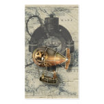 Steampunk Dirigible Balloon Ride Double-Sided Standard Business Cards (Pack Of 100)