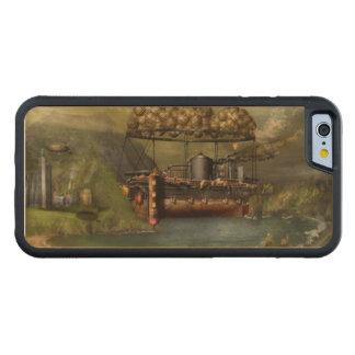 Steampunk - dirigible - la arca del Noah original Funda De iPhone 6 Bumper Arce