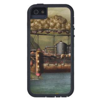 Steampunk - dirigible - la arca del Noah original iPhone 5 Fundas