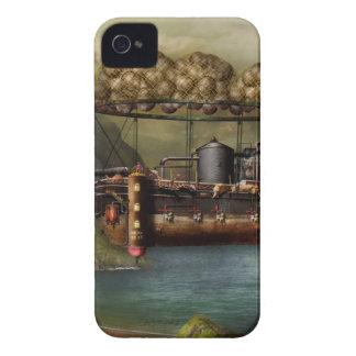 Steampunk - dirigible - la arca del Noah original Case-Mate iPhone 4 Protectores