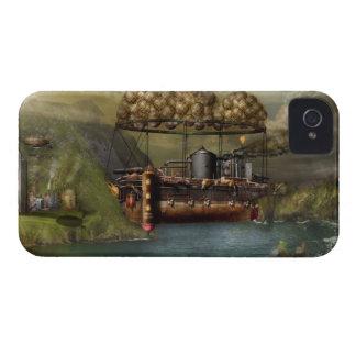 Steampunk - dirigible - la arca del Noah original iPhone 4 Case-Mate Cobertura