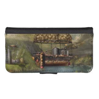 Steampunk - dirigible - la arca del Noah original Fundas Cartera De iPhone 5