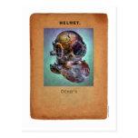 Steampunk Diver's Helmet Postcard