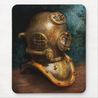 Steampunk - Diving - The diving helmet Mouse Pad