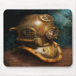 Steampunk - Diving - The diving helmet Mousepad