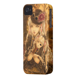 Steampunk Doll Face iPhone 4/4s Case