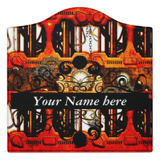 Ste&unk Door Sign  sc 1 st  Zazzle & Steampunk Door Signs   Zazzle pezcame.com