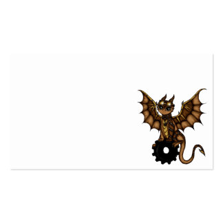 Steampunk Dragon business cards