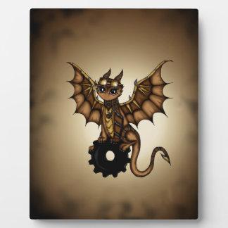 Steampunk Dragon Plaque