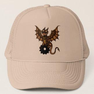 Steampunk Dragon Trucker Hat