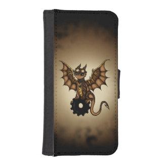 Steampunk Dragon wallet case