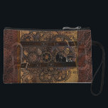 "Steampunk Dry Mini Clutch<br><div class=""desc"">Wheels and cogs</div>"