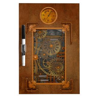 Steampunk Dry Erase Whiteboard