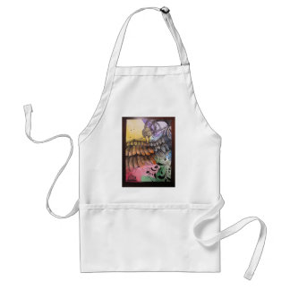 Steampunk Duck Is Free Adult Apron