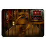 Steampunk - Dystopia - la cámara acorazada Imanes