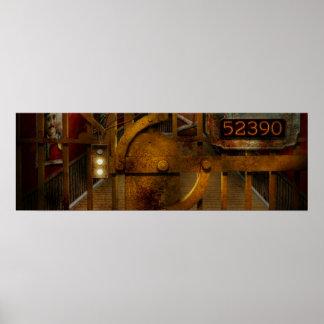 Steampunk - Dystopia - la cámara acorazada Posters