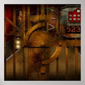 Steampunk - Dystopia - la cámara acorazada Impresiones