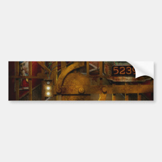 Steampunk - Dystopia - The Vault Bumper Stickers