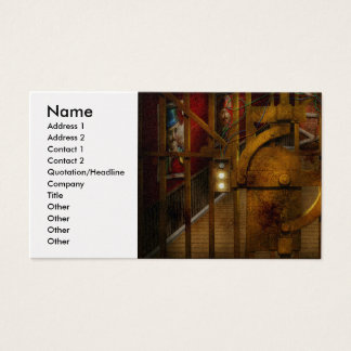 Steampunk - Dystopia - The Vault Business Card