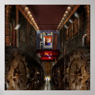Steampunk - Dystopian society Poster