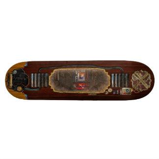 Steampunk - Dystopian society Custom Skate Board
