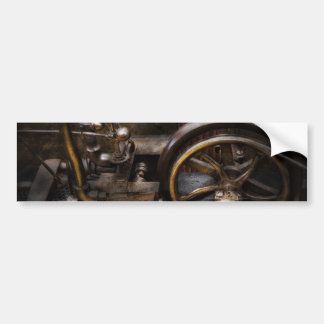 Steampunk - el chisme etiqueta de parachoque
