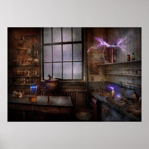 Steampunk - el científico enojado impresiones