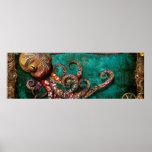 Steampunk - el cuento del Kraken Posters