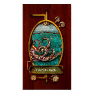 Steampunk - el cuento del Kraken Tarjetas De Visita