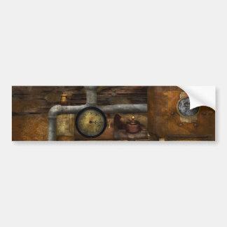 Steampunk - el dispositivo pegatina de parachoque