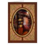 Steampunk - el estudio semiprivado tarjetas