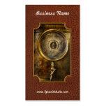 Steampunk - el indicador de presión tarjetas de visita