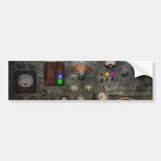 Steampunk - el modulador pegatina de parachoque