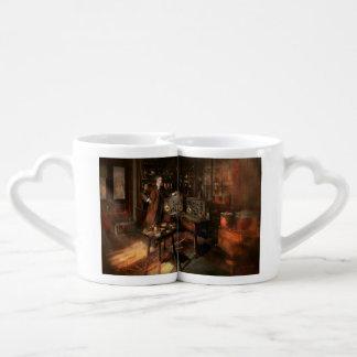 Steampunk - el viajero 1920 del tiempo set de tazas de café