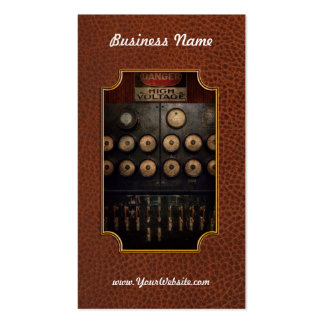 Steampunk - Electrical - Center of power Business Card