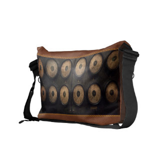 Steampunk - Electrical - Center of power Messenger Bags