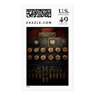 Steampunk - Electrical - Center of power Stamps