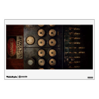Steampunk - Electrical - Center of power Wall Decal