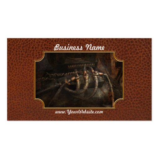 Steampunk - Electrical - Frayed Connections Double-Sided Standard Business Cards (Pack Of 100)