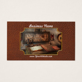 Steampunk - Electrical - My 9 to 5 job Business Card