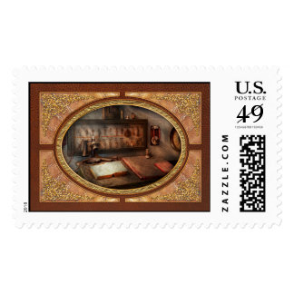 Steampunk - Electrical - My 9 to 5 job Postage Stamps